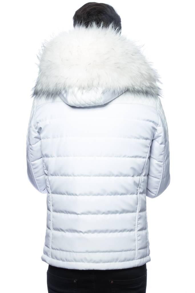 Revacuir Veste Blanc Col Homme Horspist Carlton Blanc BFfYw06wnq