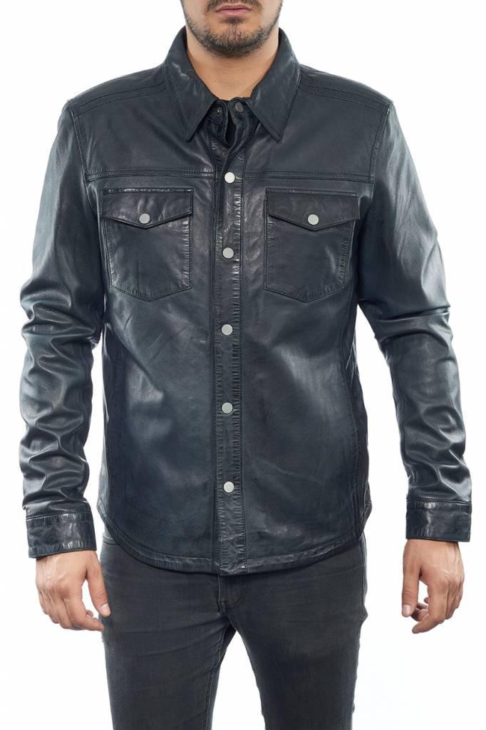 veste cuir blackskin