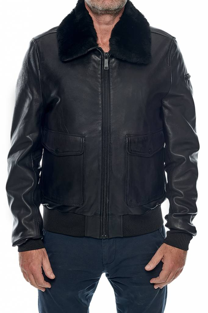 release info on shopping nice cheap Promo blouson cuir redskins homme pilot stafford black pas ...