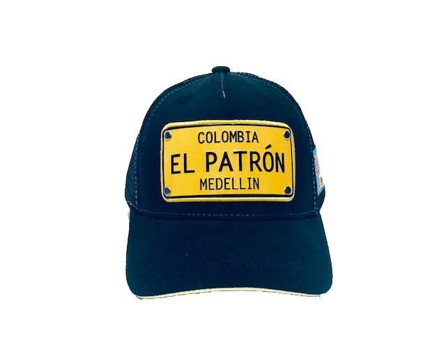 Casquette lograda el patron columbia noir Revacuir