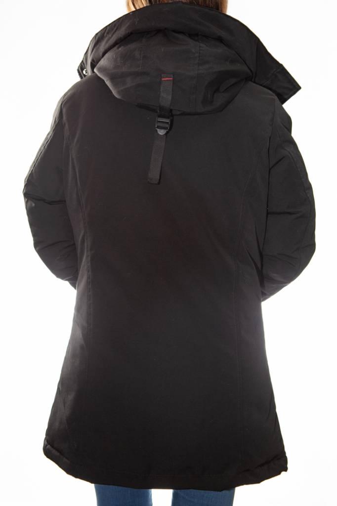 détaillant esthétique de luxe meilleur prix Doudoune helvetica femme cliff ewarm noir. - REVACUIR