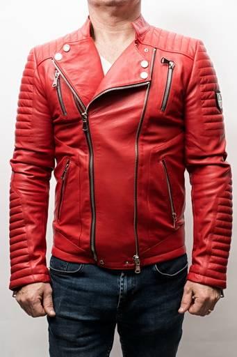 Blouson Horspist Manoir rouge