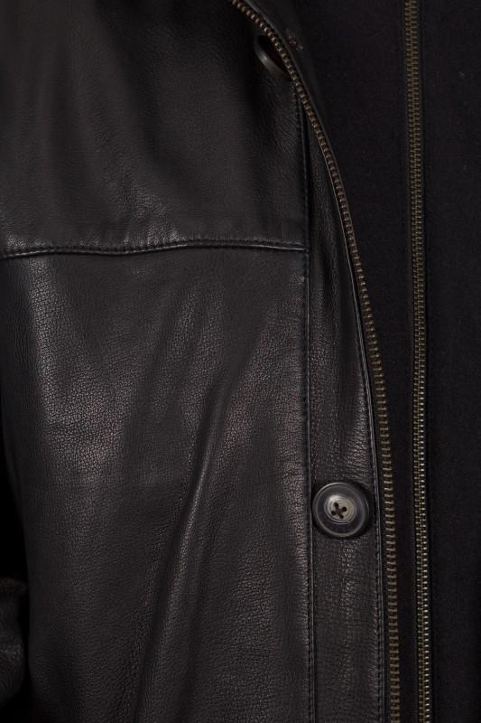 veste en cuir daytona homme noir hartford vente blouson en cuir pas cher revacuir revacuir. Black Bedroom Furniture Sets. Home Design Ideas