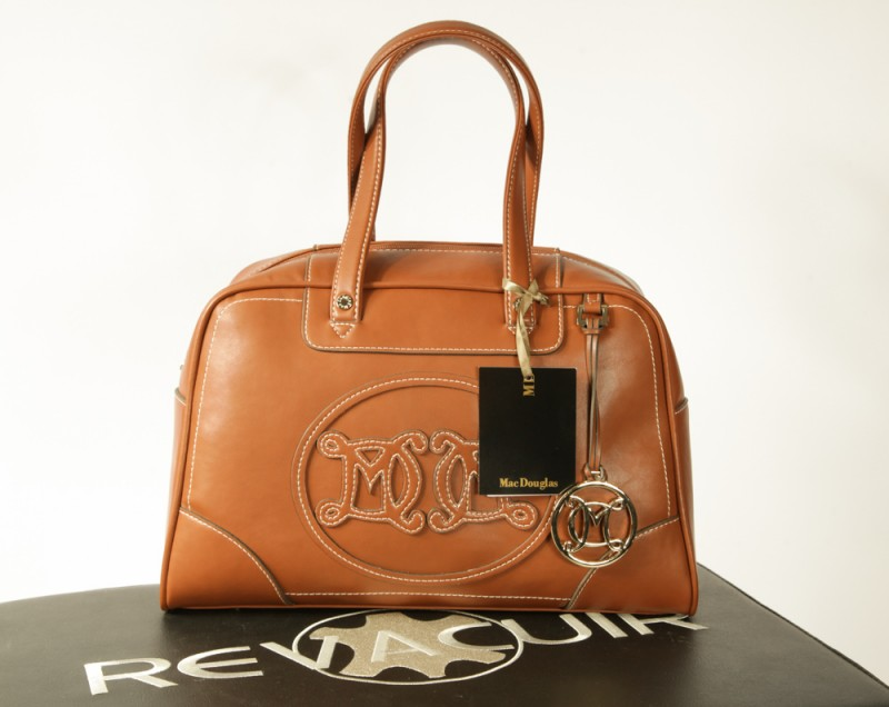 Sac Cuir Mac Douglas Alpha Rangoon Marron