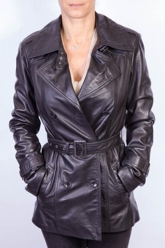 Veste cuir pour femme LPB 2ROSE