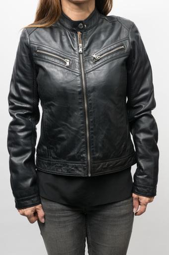 Blouson cuir Redskins Boogie Black