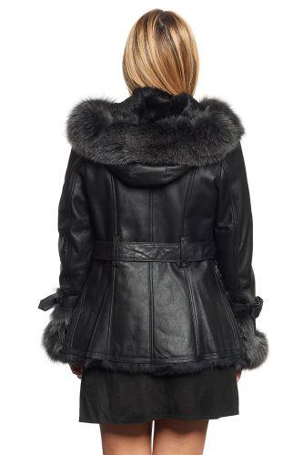 veste fourrure pour femme