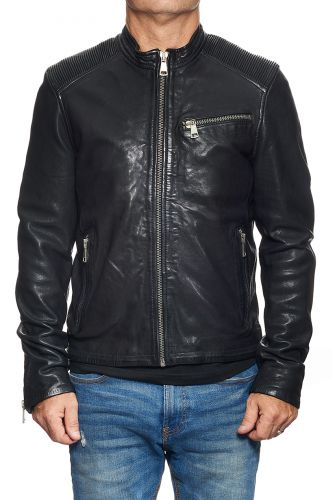 blouson cuir redskins cross