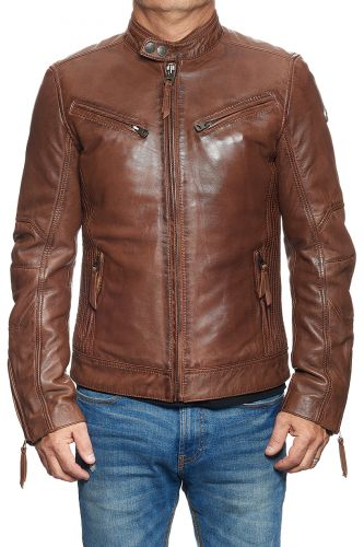 blouson cuir redskins lynch