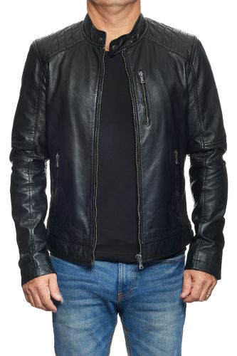 cuir homme modèle agency
