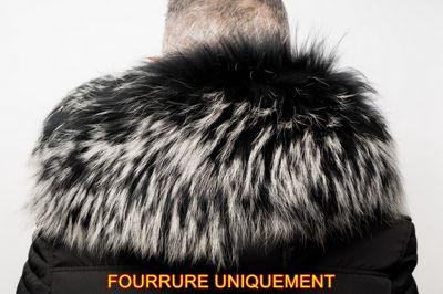Fourrure raccoon argenté Horspist