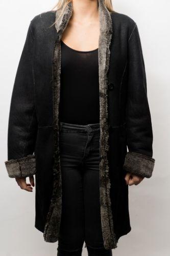 manteau en peau pour femme