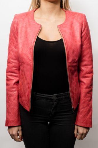 cuir femme LPB de couleur rouge