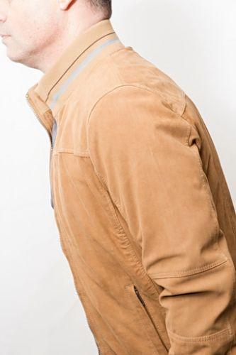 veste daim pour homme léger