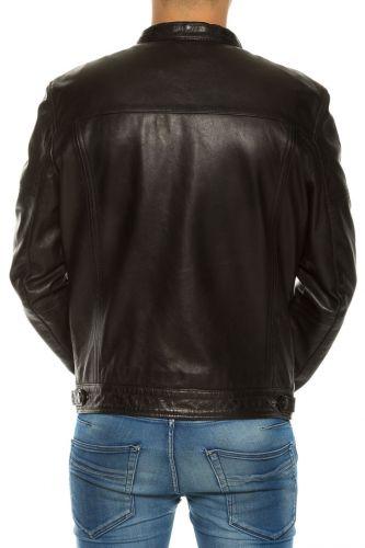 veste cuir pour homme