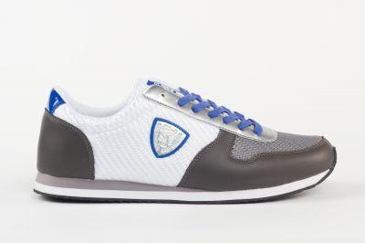 Chaussures Redskins Disca blanc, gris et bleu.