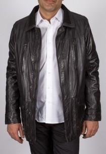 Veste en cuir Redskins homme noir Fairbank.