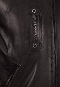 Blouson en cuir Revacuir homme noir 7480.
