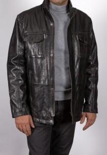 Veste en cuir Daytona homme noir Anderson.