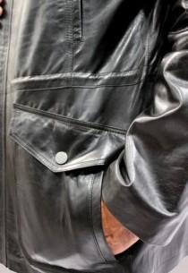 Veste en cuir Revacuir homme noir NewYork.