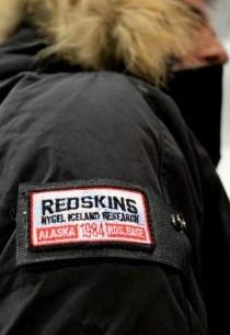 Doudoune Redskins homme Noir Dagcan