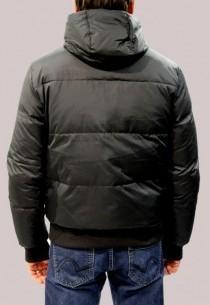 Doudoune en tissu Redskins homme noir Garner Explorer