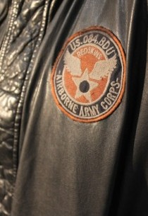 Blouson en cuir RedSkins homme noir vintage Québec