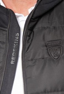 Doudoune en tissu Redskins homme noir