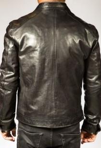 Blouson cuir Homme Daytona TAXI-BLACK-100471-agneau