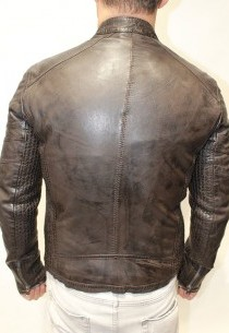 blouson agneau Redskins Ayrton brown