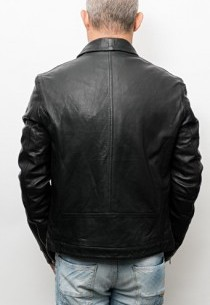 Blouson en cuir RedSkins Snoop Martini Black