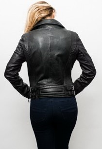 Blouson cuir Redskins Bridget Black