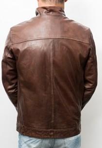 Blouson cuir Daytona Alf Bison
